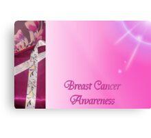 Breast Cancer Awareness Metal Print