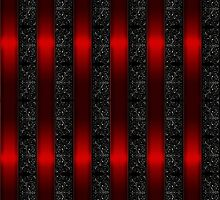 Red Ribbon Stripes by bloomingvine