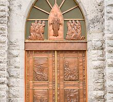 Center Door, Nativity Church by Mike Oxley