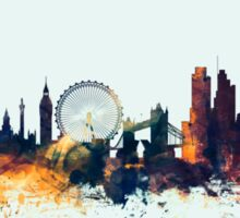 London England Skyline Sticker