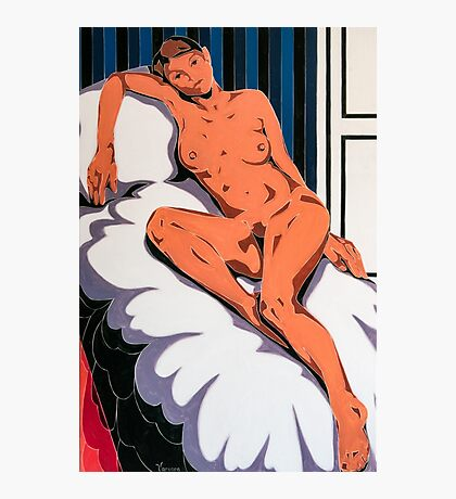 Laying Nude Photographic Print