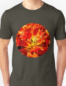 Red Tulips Macro T-Shirt