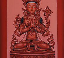 Buddha Of Compassion by Varvarasty