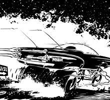 AREA 51 STAR CRUISER by NoCashComics