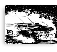 AREA 51 STAR CRUISER Canvas Print