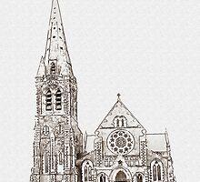 Christchurch Cathedral, Christchurch, New Zealand by Shamus Macca