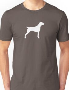 German Shorthaired Pointer Silhouette(s) Unisex T-Shirt