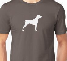 German Shorthaired Pointer Silhouette(s) Unisex T-Shirt
