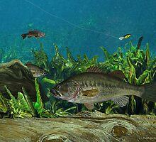 Largemouth Bass by RalphMartens