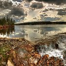 Mechanic Lake Panorama by Jamie Roach