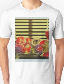 Still Life With Fruit And Wine T-Shirt
