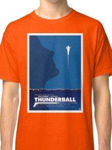 Thunderball - James Bond Movie Poster Classic T-Shirt