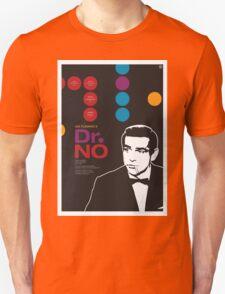 Dr. No - James Bond Movie Poster Unisex T-Shirt