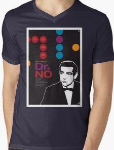 Dr. No - James Bond Movie Poster Mens V-Neck T-Shirt