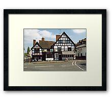 Ye Olde Anchor Inn and Restaurant Framed Print