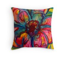 Bloomin Brilliance Throw Pillow
