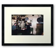 Reg and Fred's Bar Framed Print