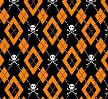 Hello Helloween Argyle Pattern by PrivateVices