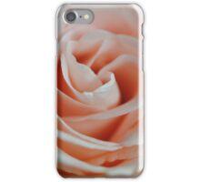 Soft Pink Rose Close Up iPhone Case/Skin