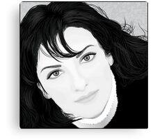 Black & White Portrait Canvas Print