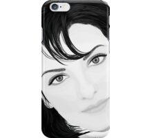 Black & White Portrait iPhone Case/Skin