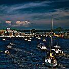 Boston/Charlestown Harbor by LudaNayvelt