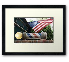Main Sreet USA Framed Print