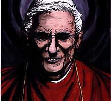Pope Benedict XVI by Conrad Stryker