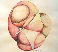 """The Millenium Stone - watercolor - 8"""" x 10"""" by Dave Martsolf"""