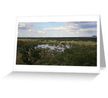 The Mercurial Lakes Greeting Card