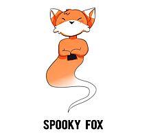 Spooky Fox Photographic Print