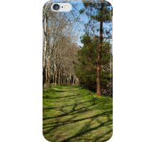 Green Path  iPhone Case/Skin