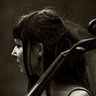 The Cello Player by MATTEOX