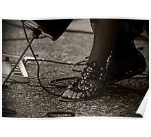 The Cello Player's Feet Poster