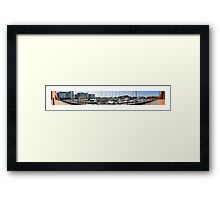 South Harbour Framed Print