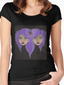 Valley Dolls Women's Fitted Scoop T-Shirt
