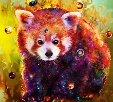 red panda by ururuty