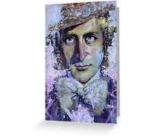 Willy Wonka painting Greeting Card