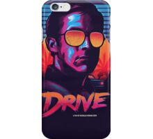 Drive orange neon iPhone Case/Skin