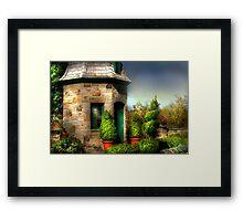 """"""" The  Garden House """" Framed Print"""