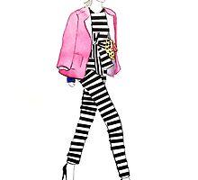 Fashion Bloggler by melissacorsari