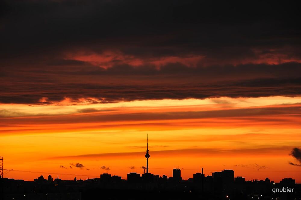 Fire Over Berlin by gnubier