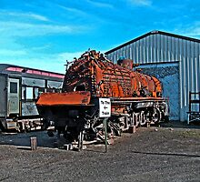 The Toasted Rusted Chinese Steam Engine by Jack McCabe