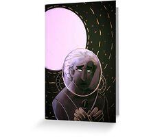 Space Dweller (1) Greeting Card