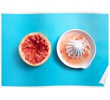 Juiced Grapefruit Poster