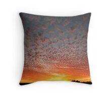 Simpson Desert Sunset Throw Pillow
