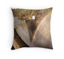 Devils Gate Dam Throw Pillow