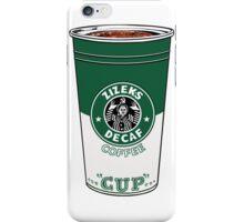 Zizek's decaffeinated coffee iPhone Case/Skin