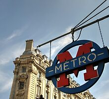 M for Metro  by Rob Hawkins