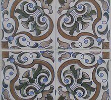 Portuguese tile print by colieco